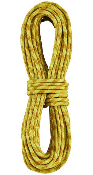 Edelrid Confidence - Corde d'escalade - 8,0mm 30m jaune/orange